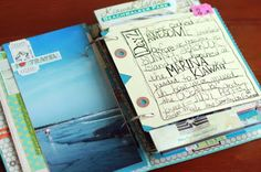 travel journal 3.  Wonderful idea mixing the photos and writing.
