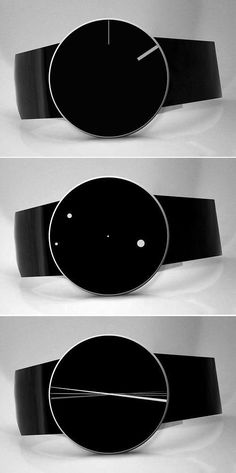 Abstract Watches by Denis Guidone