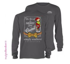 Cutest Christmas Tee Ever Find This Pin And More On Simply Southern Tees