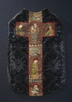 Rear section of a chasuble, late 15th century