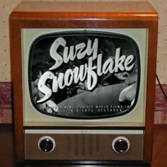 """1950s. """"Here comes Suzy Snowflake"""" - Frosty's way cooler sister."""