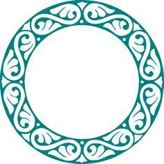 Free Image on Pixabay - Circle, Embellishment, Decoration Celtic Border, Circle Borders, Stencil Patterns, Frame Clipart, Collage Frames, Rangoli Designs, Grafik Design, Art Deco Design, Circle Design