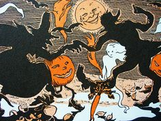 vintage Halloween illustrations - Google Search