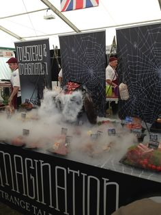 The finished GB display for the Trinations butchery challenge 2014 World Famous, Challenges, Display, Floor Space, Billboard