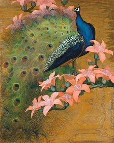 Blog de un admirador del arte: Jessie Arms Botke (1883-1971) de los pavos reales