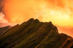 Thanks for climbing up to the peak lena  by visualsvan