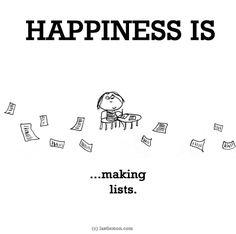 http://lastlemon.com/happiness/ha0182/ HAPPINESS IS...making lists.