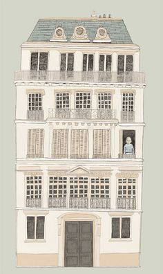 8ème arrondissement // rachel levit illustration...Inspiration for your Paris vacation