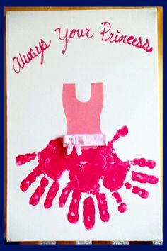 Toddler Fathers Day Crafts - fathers day gifts from daughter/toddler girl