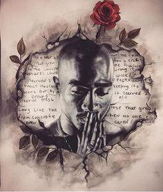 On The 19th Anniversary Of Tupac's Death Fans Honor Him With Vivid Art - Screen Shot - 12 | Vibe