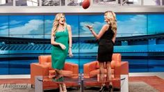 """""""Female Sports Reporters Erin Andrews and Hannah Storm on Rampant Sexism and Fashion Faux Pas"""" by Marisa Guthrie  Fascinating and definitely worth a read."""
