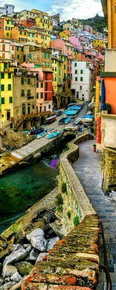 Riomaggiore, Liguria ❤