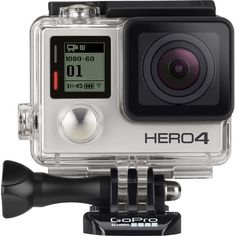 GoPro - HERO4 Silver Action Camera - Angle Zoom