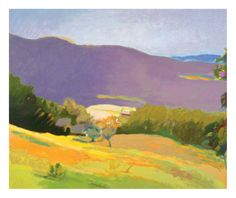 """""""Down In The Valley,"""" by Wolf Kahn"""