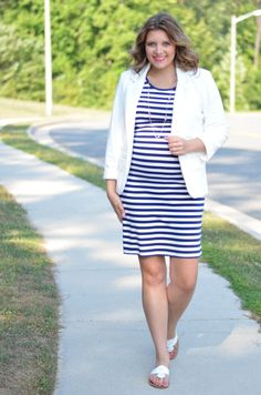Summer Pregnancy Office Style #maternity #pregnancy #style