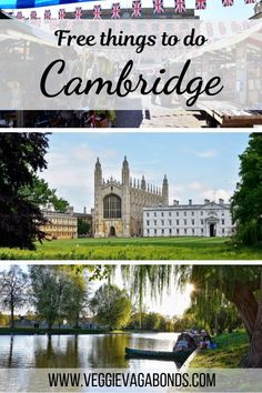 A Whole Bunch of Free Things to Do in Cambridge, UK - Veggie Vagabonds London What To See, Things To Do In London, Free Things To Do, Visit Cambridge, Cambridge England, Places To Travel, Travel Destinations, Places To Visit, Day Trips From London