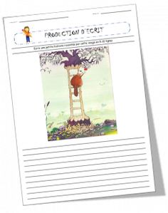 Production d'écrits à partir d'images French Teacher, Teaching French, Teaching Spanish, High School French, Teachers Corner, French Classroom, French History, Sentence Writing, French Immersion