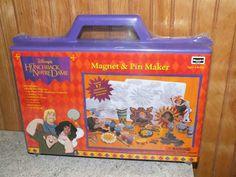 Brand New - Disney The Hunchback of Notre Dame Magnet & Pin Maker
