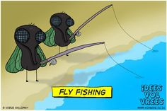 Idees vol vrees Fly Fishing Basics, Fishing Tips, Funny Jokes, Hilarious, Cheesy Jokes, One Liner, Laugh Out Loud, Puns, Funny Pictures