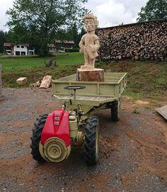 Tractors, Monster Trucks, Vehicles, Art, Atelier, Wood Art, Craft Art, Rolling Stock, Kunst