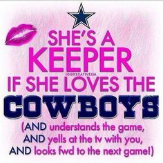 I'm a Cowboys fan!