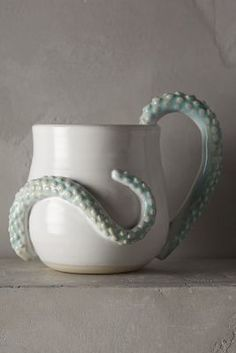 Anthropologie Octopoda Mug