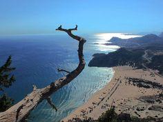 Tsambika Beach, Rhodes #mysteriousgreece