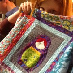 Hannah's quilt!