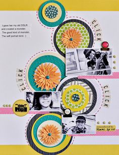 #papercraft #scrapbook #layout.   @Sasha Hatherly Hatherly Farina