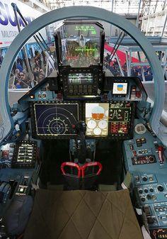 Su-35S Flanker-E Glass Cockpit - Russian Air Force
