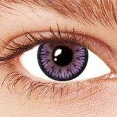 Violet Sparkle Contact Lenses
