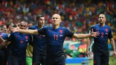 World cup 2014                                 Spain 1-Netherlands 5. In Brazil