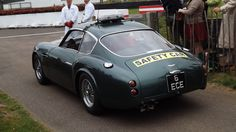 one of a kind pace car at Goodwood 2012 - AM DB4GT Zagato