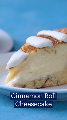 Fun Baking Recipes, Sweet Recipes, Dessert Recipes, Cooking Recipes, Cinnamon Roll Cheesecake, Cheesecake Recipes, Diy Food, Just Desserts, Love Food