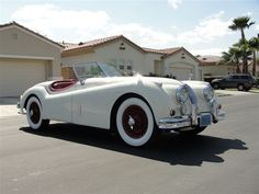 1956 Jaguar XK-140 Convertible