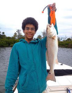 Redfish, 2-20-15, Naples Fishing Report & Charters ~ #Naples.
