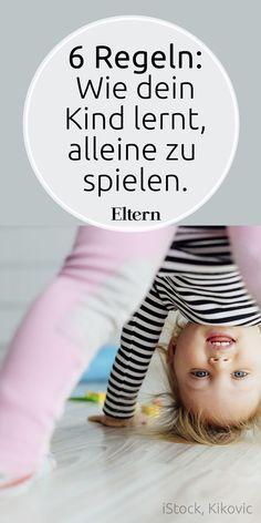 Wie dein Kind lernt, alleine zu spielen. Eigentlich können schon Babys sich alleine ganz gut beschäftigen. Ist ja auch alles so spannend um sie rum. Wir Eltern meinen es manchmal vielleicht zu gut und bieten unseren Kindern zu schnell ganz viel an, um sie zu fördern. Damit nehmen wir den Kleinen aber auch viele Chancen. #alleinespielen, #babyzufrieden, #wenigeristmehr, #babyfoerdern, #familienregeln, #kleinkindspielen, #beschaeftigungfuerkinder, #spielen
