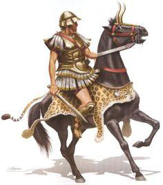 Alexander's companion calvary by Nikos Panos