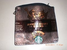 This Starbucks Coin Purse is an Eco-Friendly Fashion Statement trendhunter.com