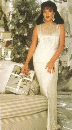 Joan Collins' Dynasty christmas (s)