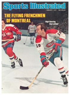 Guy Lafleur - Montreal Canadiens - cover of Sports Illustrated, Feb The Habs seemed unstoppable in those years. Hockey Games, Hockey Players, Ice Hockey, Stars Hockey, Montreal Canadiens, Nhl, Sports Magazine Covers, Nfl Highlights, Si Cover