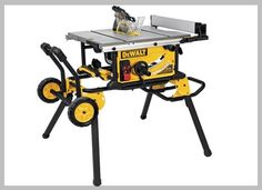 Woodworking Circular Saw Dewalt 10 in. 15 Amp Site-Pro Compact Jobsite Table Saw with Rolling Stand - Dewalt 10 in. 15 Amp Site-Pro Compact Jobsite Table Saw with Rolling Stand Best Portable Table Saw, Best Table Saw, Table Saw Stand, A Table, Diy Table Saw, Wood Table, Circular Saw Reviews, Best Circular Saw, Dust Collection