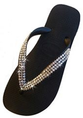d1c8fd55be Swarovski Crystal Havaiana Flip Flops for the girls Revenda