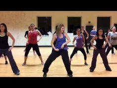 Zumba Dance Fitness: Scream and Shout by Will.I.am and Britney Spears   We need to do this tomorrow night@Leigh Dennis@Linda Van Meter@Kaitlyn Dennis