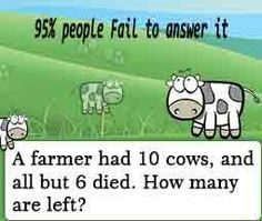 #riddles i actually got this one right away lol    go in comments for  the correct answer! 6