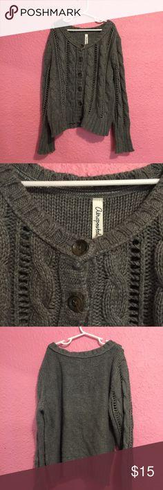 Girls gray cardigan. Girls gray cardigan. Aeropostale Shirts & Tops Sweaters