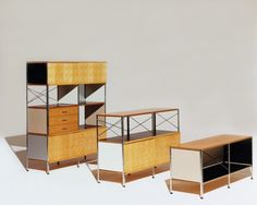 Timeless Design Eames Storage Unit 400 Series By Office Home Desk