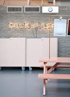 Backstage / Interior deco by Swedish Ninja