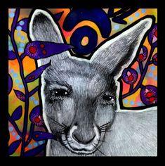 The Art Lady: Australian Animals in Aboriginal Artworks Contrast Art, Aboriginal Artwork, Aboriginal Art Kids, High School Art Projects, 8th Grade Art, Animal Art Projects, Australian Animals, Australian Art, Art Curriculum