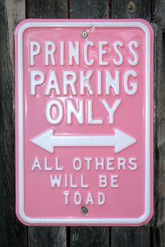 Princess Parking!